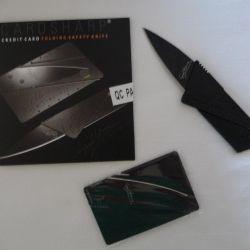 Bıçak kredi kartı