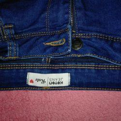 Kot pantolon 44 (+, -), 170 yüksekliğe kadar