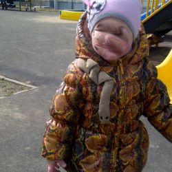 Orby bahar ceket 2-3 yıl 86 cm yalıtımlı