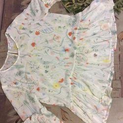 Летняя блузка новая monkl