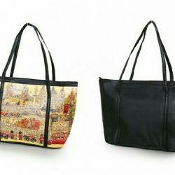 New female bag with 3D image