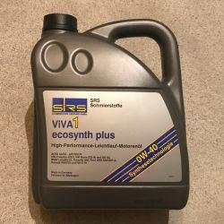 Масло SRS ViVA 1 ecosynth plus SAE 0W-40 4л