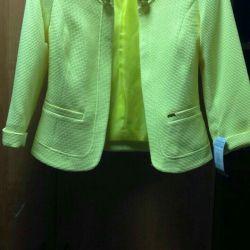 Jacket interesant (galben strălucitor), noul râu 44