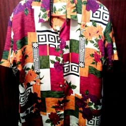 The blouse is summer, the size is 52-54