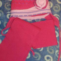 Set cap + scarf