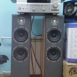 Sistemul de boxe Yamaha + B & W + PolkAudio