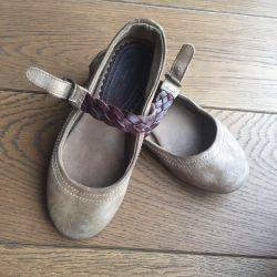 Children shoes Ballet Shoes Massimo Dutti solution 29