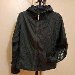 The jacket is a teenage windbreaker
