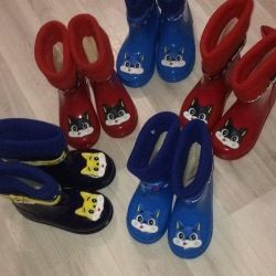 Rubber boots new