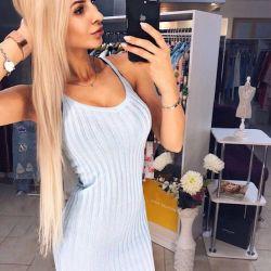Платье «широкая лапша»