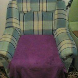 Armchair (not folded)