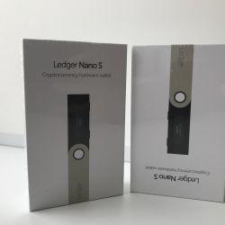 The Ledger nano S crypto is sealed