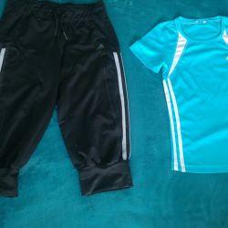Pants and T-shirts