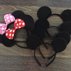 Minnie Mouse Ears Bezel