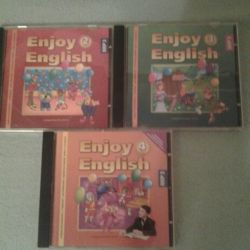 Audio supplement to the textbook-3 pcs for 100 rubles