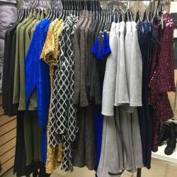 Giysilerin satışı