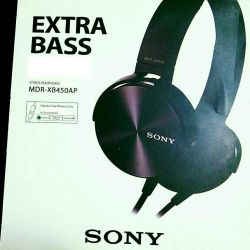 New! Sony Extra Bass MDR-XB450AP