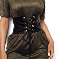 Belt corset