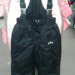 Bib overalls new winter