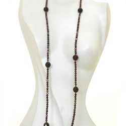Bohemian Faceted Crystal Beads