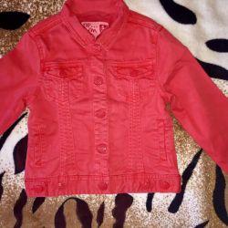 Куртка джинсовая р.108