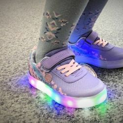 New sneakers with backlight