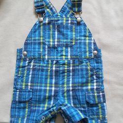 Overalls - Koala Kids shorts for 12-18 months