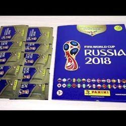 FIFA Panini çıkartmaları için albüm dergisi