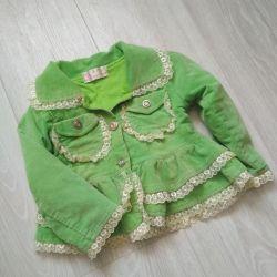 Corduroy jacket 92-98 height