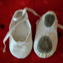 Ballet flats, gowns of various sizes and slippers