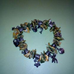 Bracelet made of shells