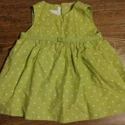 Платье H&M на 62 см