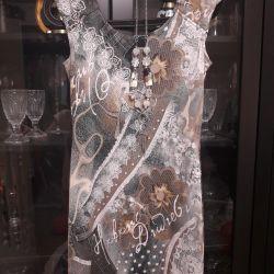 Νέο φόρεμα Έκρηξη + χάντρες.