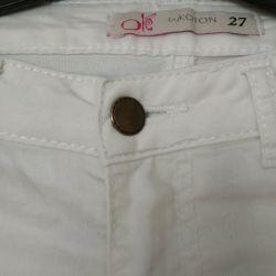 Брюки джинсы летние