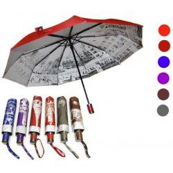 Umbrelă automată cu cupolă cu două fețe