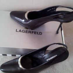 Туфли Карл Лагерфельд нат. кожа