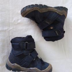 Warm boots for a boy BARTEK p.22, excellent status.