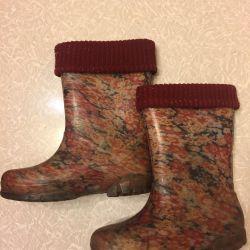 Rubber boots f. Demar 32-33 rr