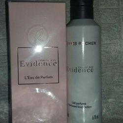 Evidence 100ml. + 200ml cream set Rosh