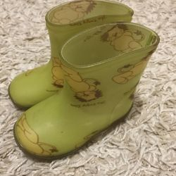 Rubber boots,