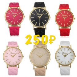 Multicolored watches