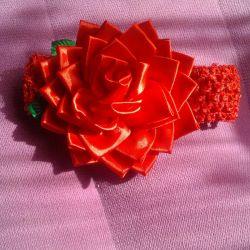 Пов'язка Роза ручна робота
