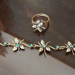Jenavie Bracelet and Ring
