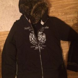 Фирменная куртка тeплая
