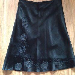 Silk skirt size 46