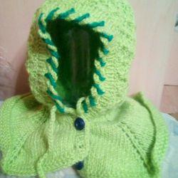 Καπέλο με κολάρο για παιδιά