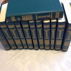 New books by L. N. Tolstoy 12 volumes.