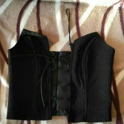 Bolero, corset.