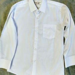 Рубашка для мальчика белая