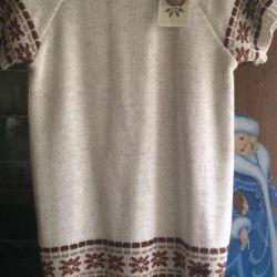 Платье свитерное 146/152